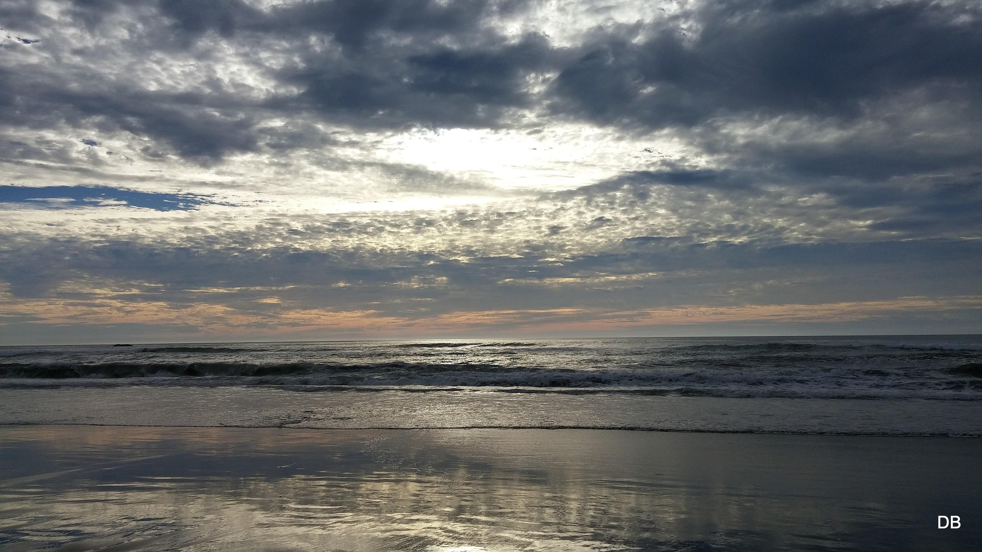 Winter Pacific Ocean