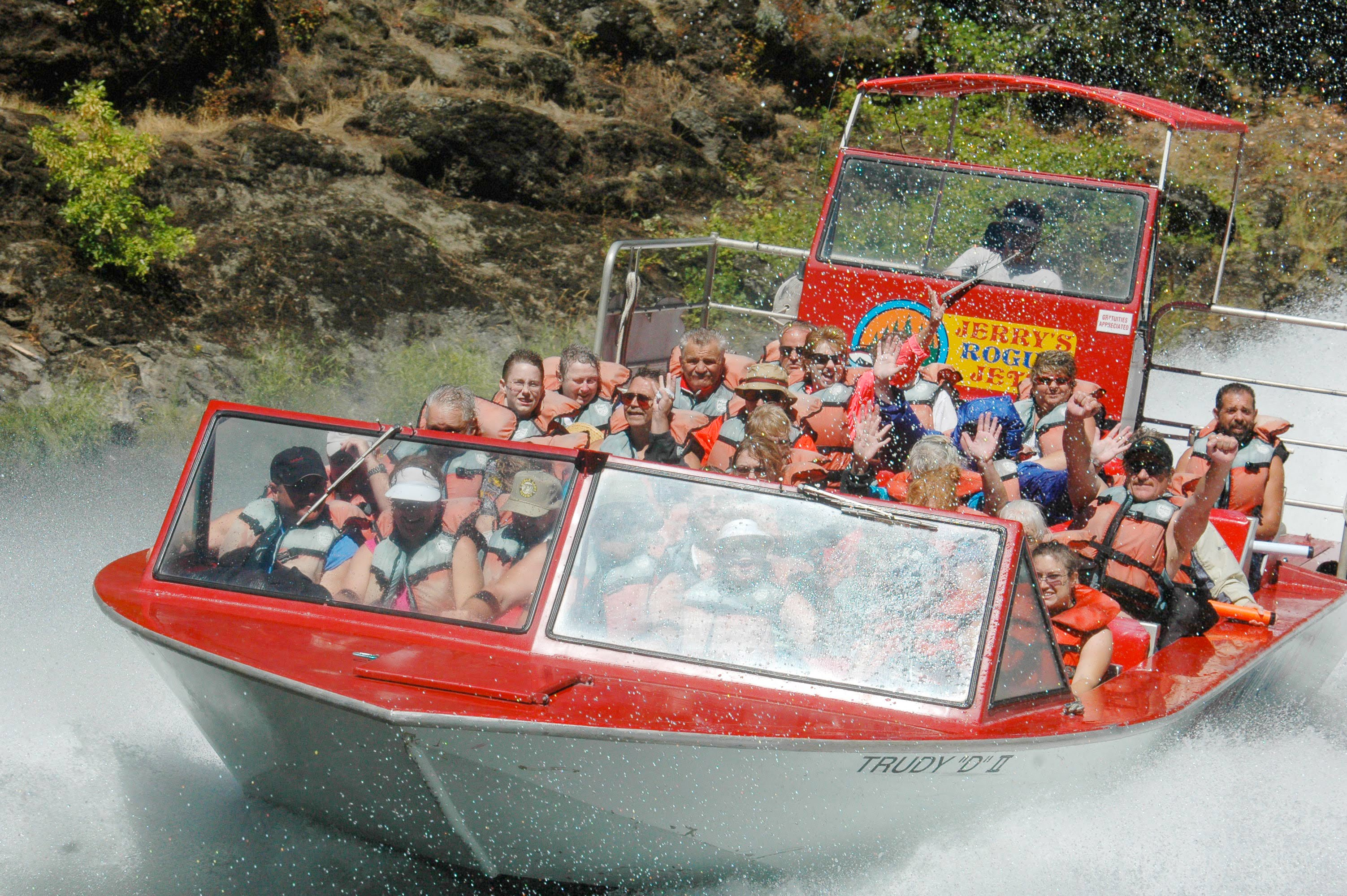 Jerry's Jet Boat ride
