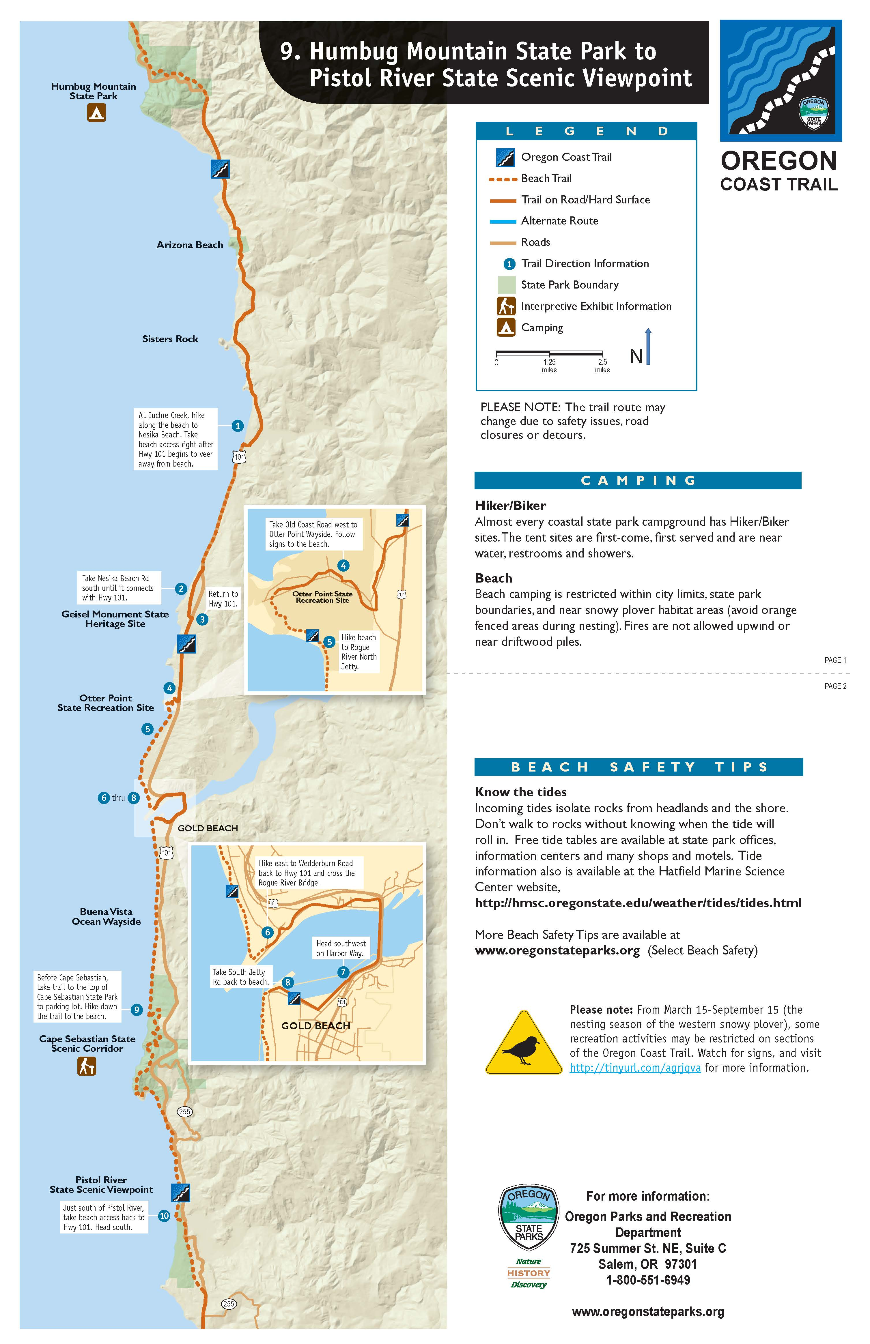 Maps ⋆ Visit Gold Beach